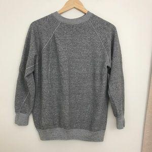 Vintage Basic Grey Crewneck Sweatshirt
